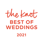 The Knot wedding badge